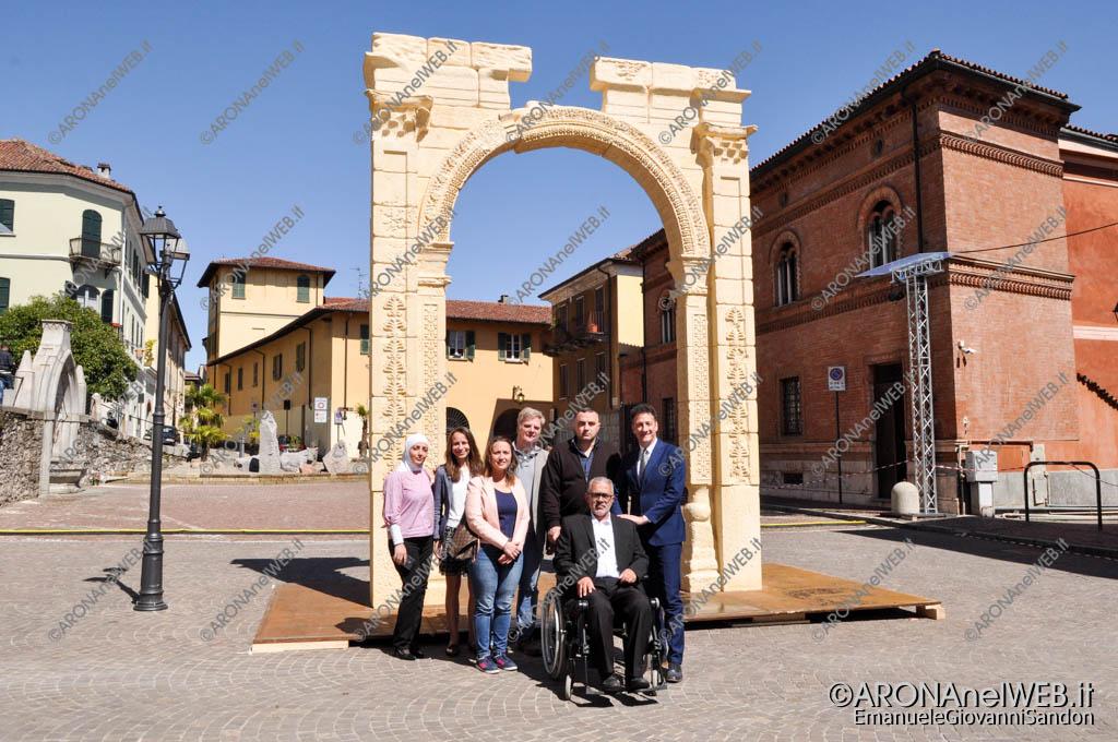 EGS2017_10675   La riproduzione 3D dell'Arco di Palmira