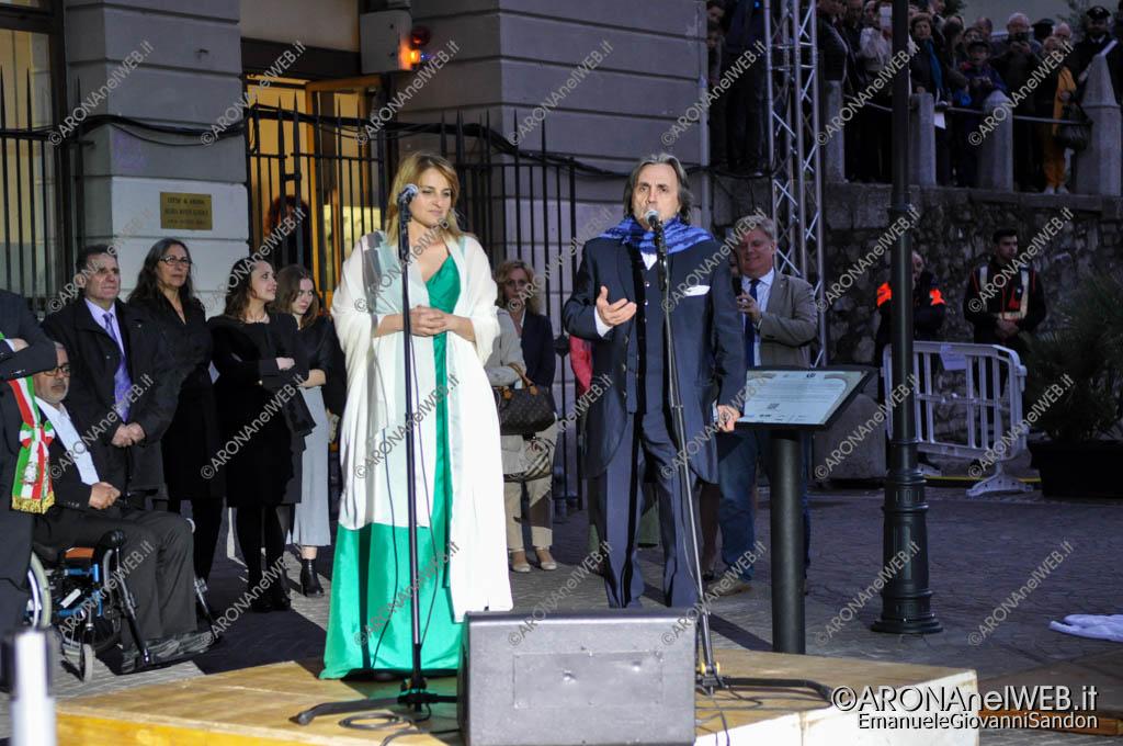 EGS2017_10909   Il soprano Sara Cervasio e il tenore Giorgio Casciarri