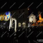 EGS2017_11102 | L'Arco di Palmira in Piazza San Graziano ad Arona con lo spettacolo di luci di Sebastiano Romano