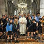 EGS2017_12168 | Don Antonio Oldani con il gruppo scout Arona