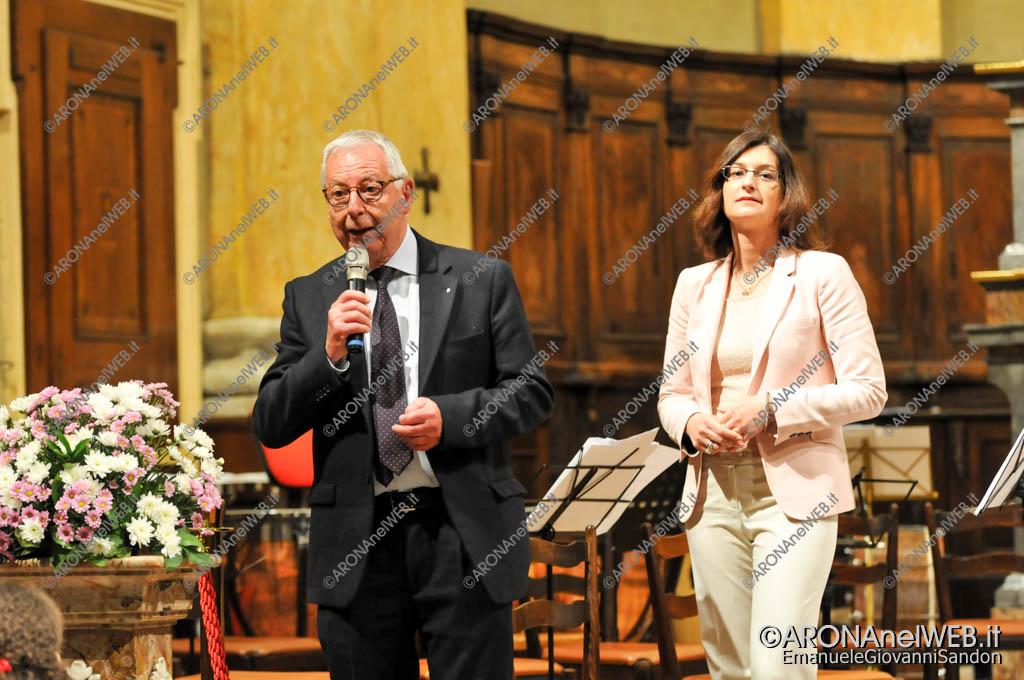 EGS2017_13386 | Franco Ceffa, presidente Lions Club Arona-Stresa e Lucia Benedini referente di Stella Onlus