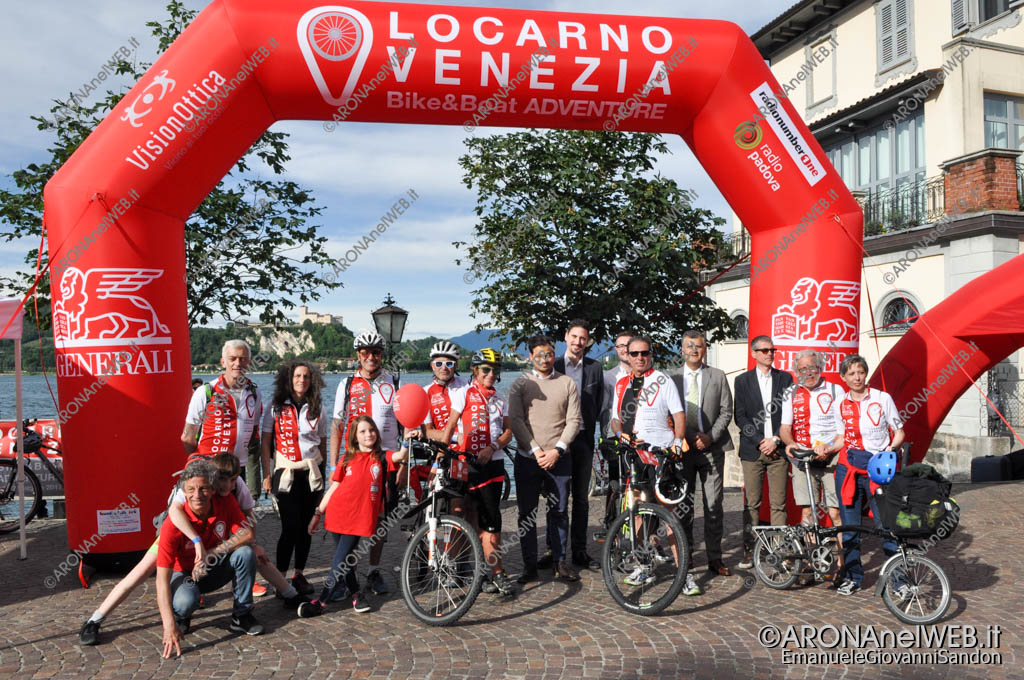 EGS2017_14335   arrivo ad Arona della prima tappa Locarno Venezia Bike&Boat