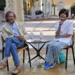 EGS2017_15162 | La prof.ssa Maria Teresa Grassi con Paolo Lampugnani
