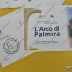 """EGS2017_18203   Annullo filatelico """"L'Arco di Palmira ad Arona"""" Riscoprire le comuni radici tra oriente ed occidente"""