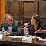 EGS2017_24781 | Il dott. Corrado Zanetta e la presidente del consiglio Monia Mazza