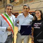 EGS2017_26047 | Noemi Platini con il sindaco Metteo Besozzi e l'assessore Vito Diluca