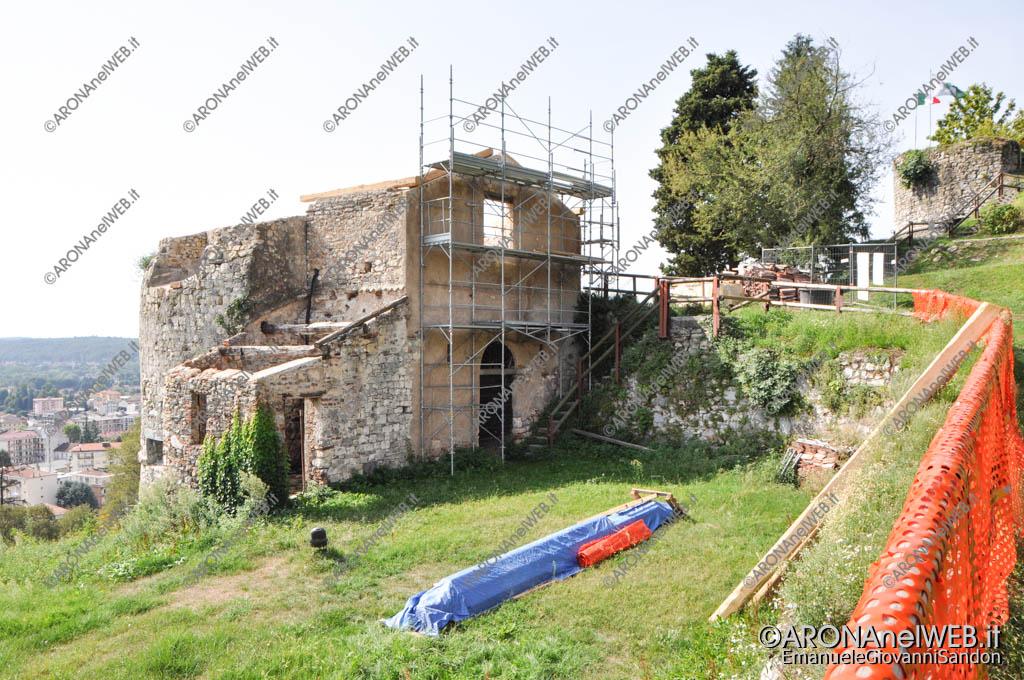 EGS2017_26249   Parco della Rocca di Arona - La Torre Mozza in ristrutturazione