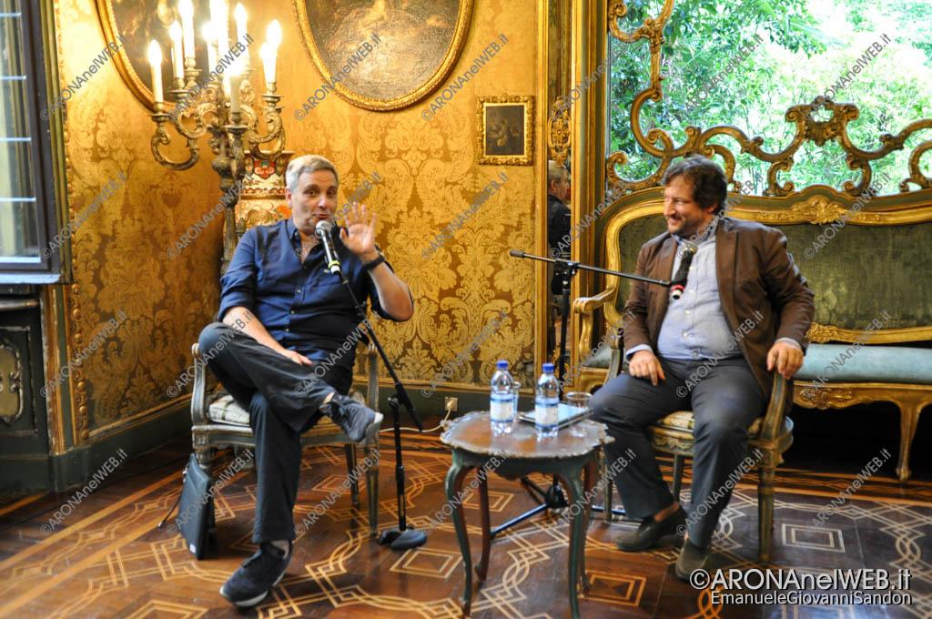 EGS2017_26399   Maurizio De Giovanni dialoga con Carmelo Di Gennaro