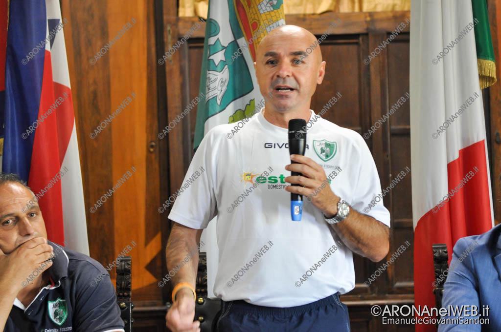 EGS2017_26446 | Luca Porcu, allenatore Arona Calcio