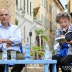 EGS2017_28580   Enrico Letta con Dacia Maraini