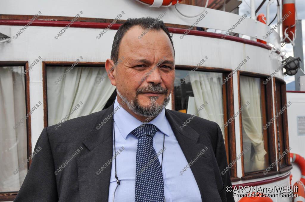 EGS2017_30447   Gianluca Mantegazza, direttore della Navigazione Lago Maggiore
