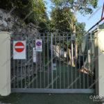 EGS2017_33002 | 14.10.2017 Cancello di accesso alla Spiaggia delle Rocchette - chiuso