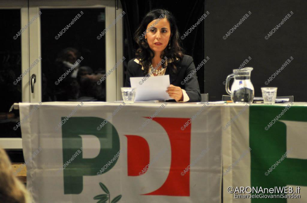 EGS2017_33941   Virginia D'Angelo, eletta coordinatore PD Arona