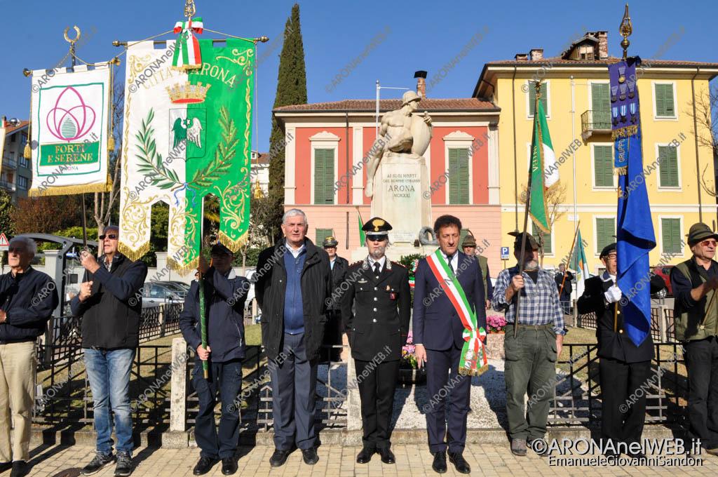 EGS2017_35938   Commemorazione 4 novembre al monumento ai caduti di Arona