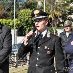 EGS2017_35967 | Intervento del comandante Andrea Ceron - Commemorazione 4 novembre al monumento ai caduti di Arona