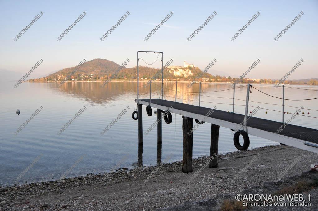 EGS2017_36056 | Spiaggia delle Rocchette - 03.11.2017 Siccità Lago Maggiore 192.82m