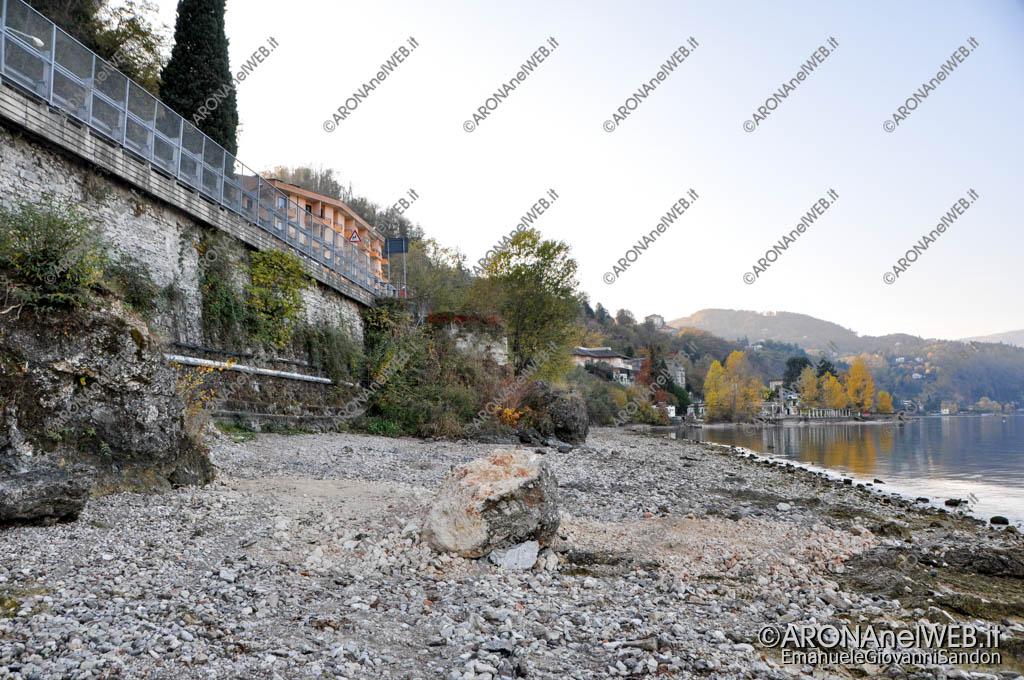 EGS2017_36069 | Spiaggia delle Rocchette - 03.11.2017 Siccità Lago Maggiore 192.82m
