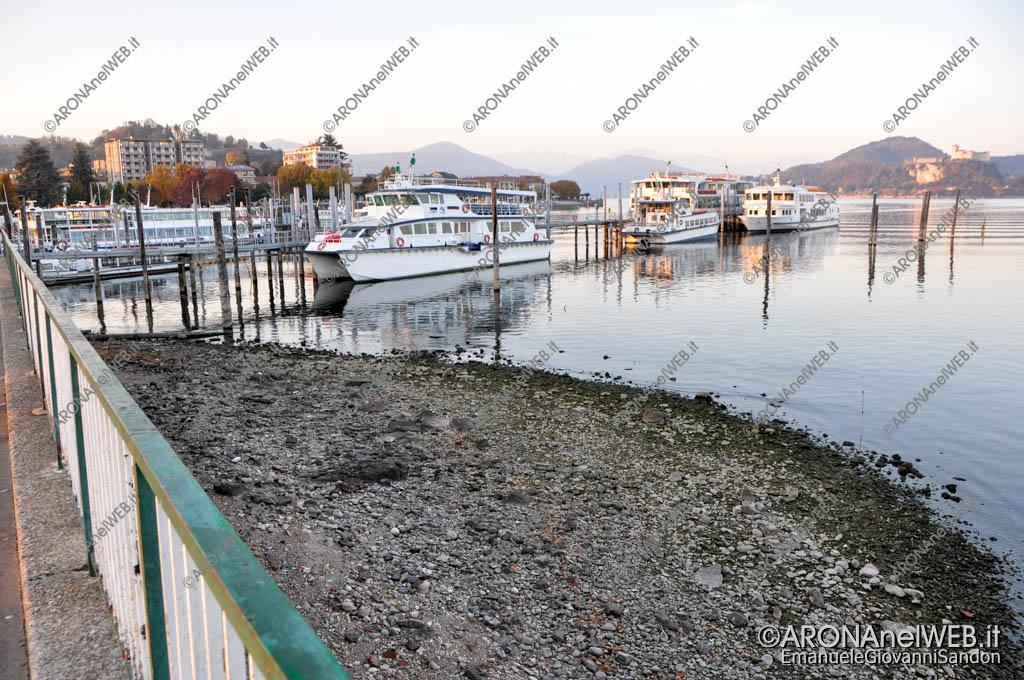 EGS2017_36115 | Piazzale Aldo Moro - 03.11.2017 Siccità Lago Maggiore 192.82m