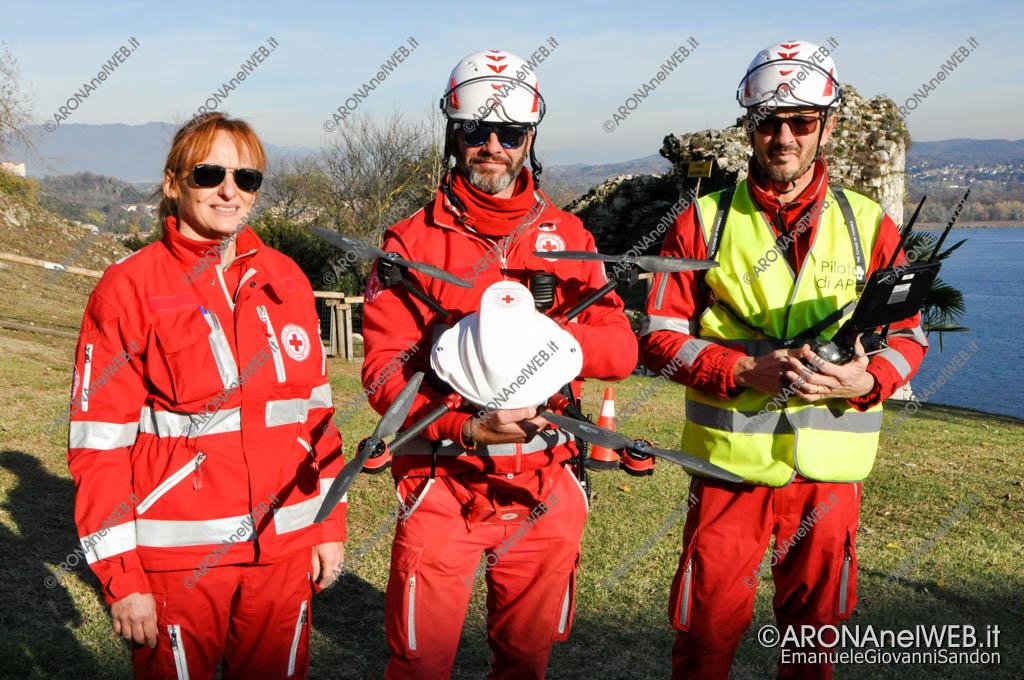 EGS2017_36888 | I piloti del drone Fabio Dalla Rosa, Rita Alovisetti e Michele Ronchi