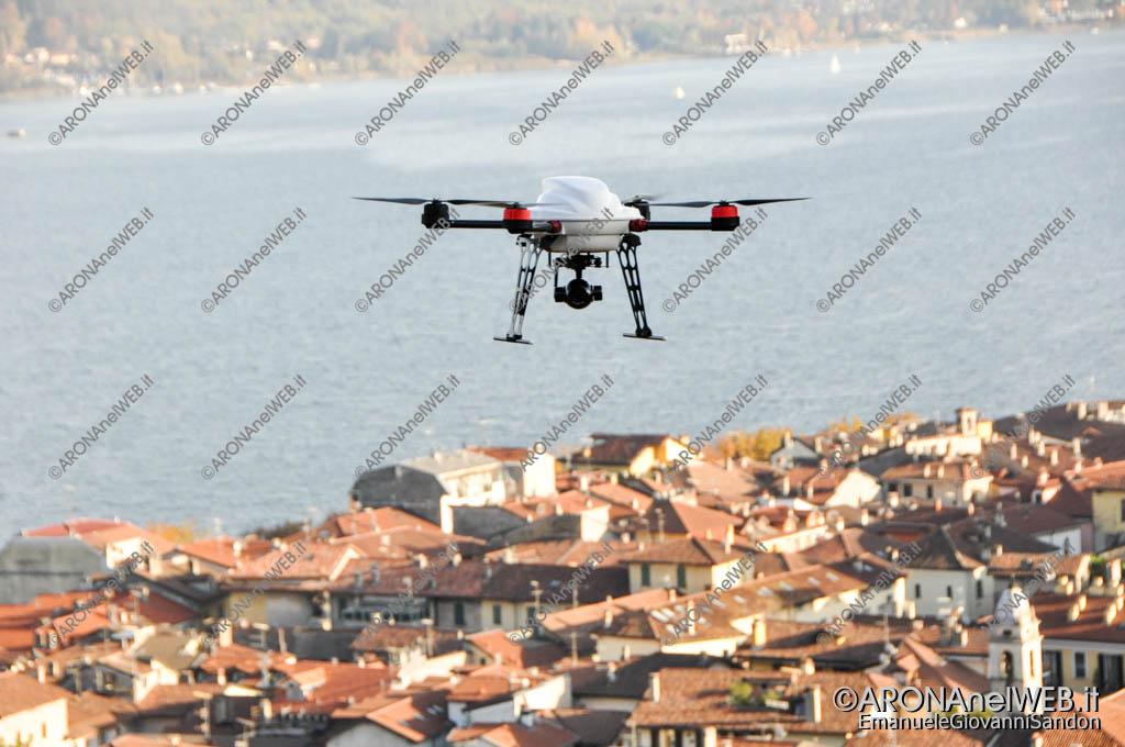 EGS2017_37074 | Drone Cri Arona in sorvolo sulla Rocca di Arona