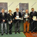EGS2017_37351   Premiazione sezione Medici scrittori nel mondo - Arturo Lattuneddu e Marko Peter con Simone Bandirali, Patrizia Valpiani e Sergio Marengo