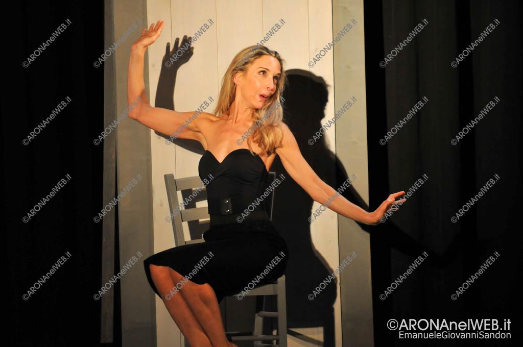 """EGS2017_38724   Spettacolo teatrale """"Il Divorzio"""", Laura Negretti - Teatro in Mostra"""