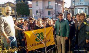 FestadellAlberoArona_1_20171121 | prof. Gabriella Rech dirigente scolastico con Luca Bertolino e Luigi Bellodi
