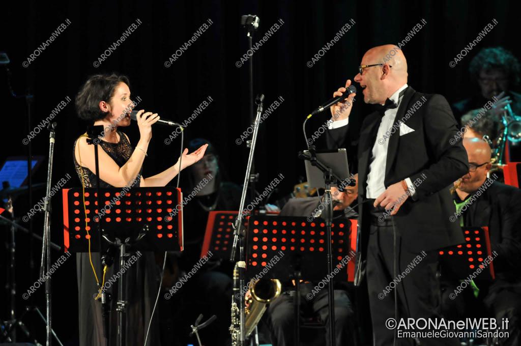 EGS2017_41906 | Ylenia Piola e Vincenzo Limongi con l'Accademia Big Band