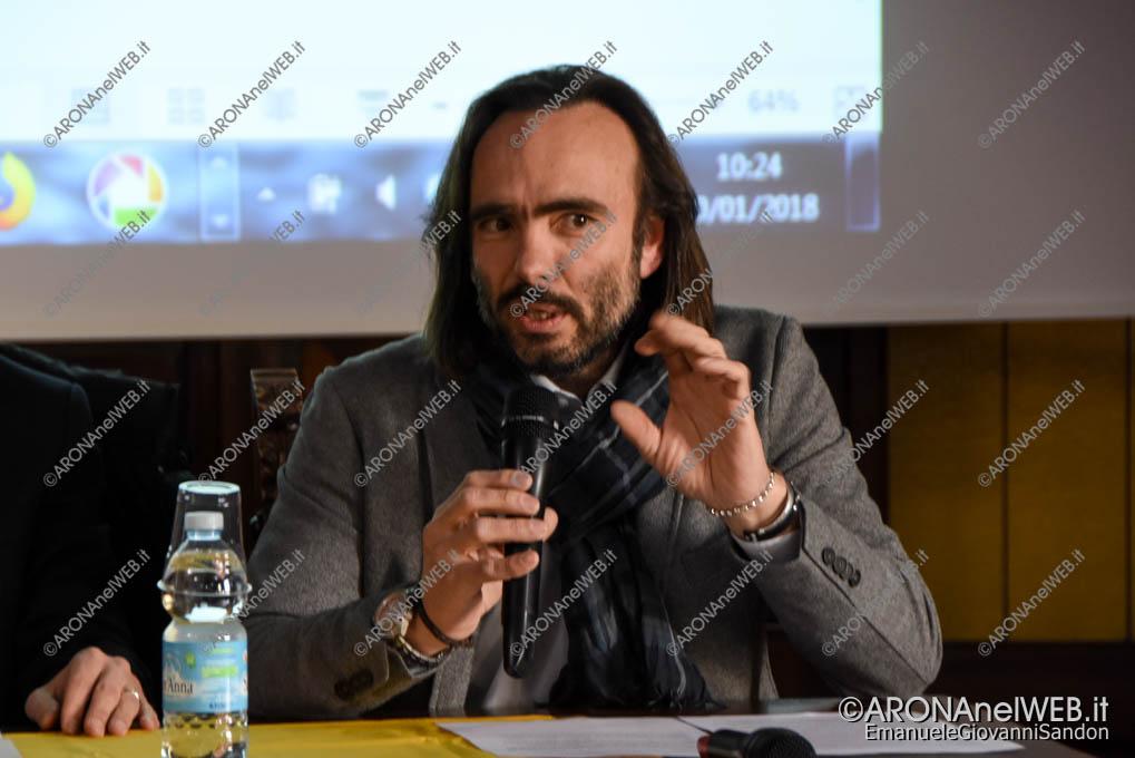 EGS2018_00980   Massimiliano Caligara, presidente circolo di Legambiente Gli Amici del Lago Arona - onlus