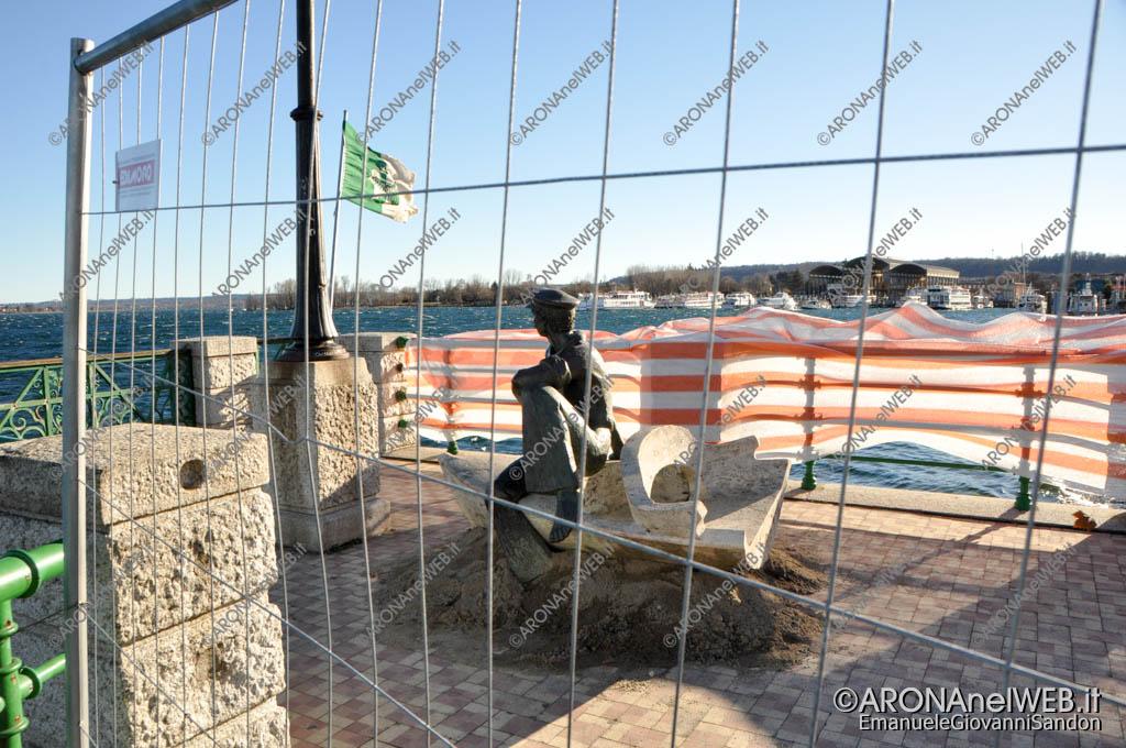 EGS2018_01180_21gennaio2018 | Il monumento al Barcaiolo spostato per i lavori