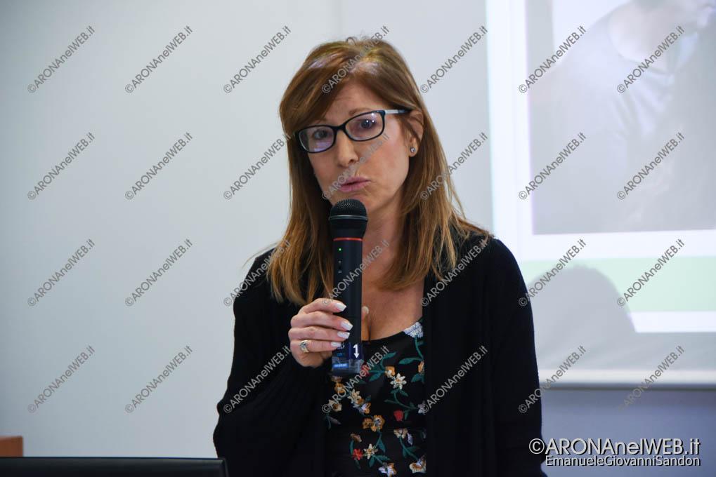 """EGS2018_01313   Sabrina Lorini, presidente dell'Associazione Amici dell'Istituto """"Enrico Fermi"""" di Arona"""