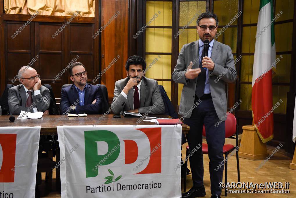 EGS2018_01436   Sergio De Stasio, Segretario PD Provincia di Novara