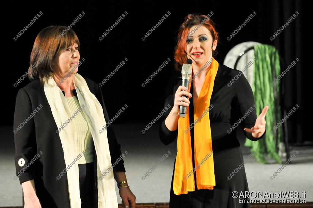 EGS2018_03408 | Gabriella Greison con Carla Rossi, presidente della Consulta Femminile Aronese