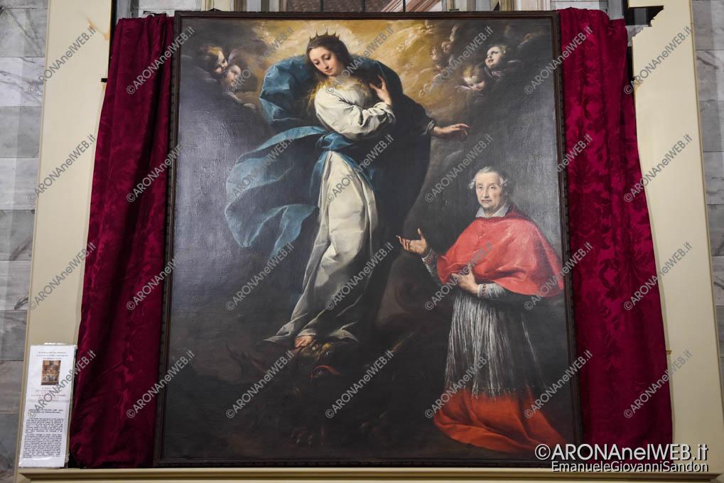 EGS2018_05510 | L'Immacolata con Federico Borromeo - Carlo Francesco Nuvolone (1609-1661)