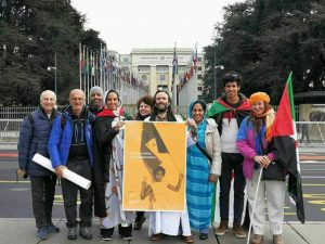 16.03.2018 Manifestazione Saharawi UN Ginevra
