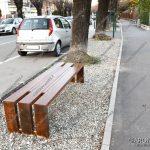 EGS2018_01659 | Panchina, nuovo arredo di Viale Baracca