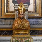 EGS2018_08433 | Busto di San Carlo sec. XVII con reliquia