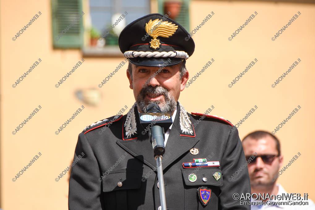 EGS2018_10077 | Col. Carlo Ferrucci in rappresentanza del Comandande Regionale dei Carabinieri Forestale