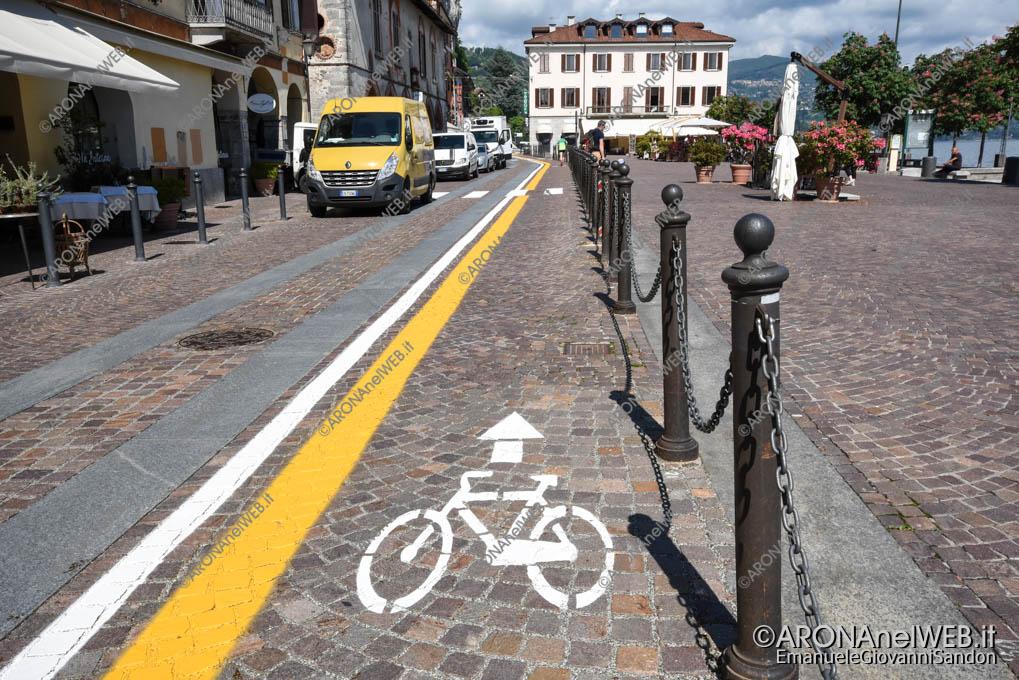 EGS2018_10657_10maggio2018     Pista ciclabile in Piazza del Popolo