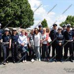 EGS2018_11271 | I membri della Polizia Locale con i famigliari di Giorgio Sinigaglia