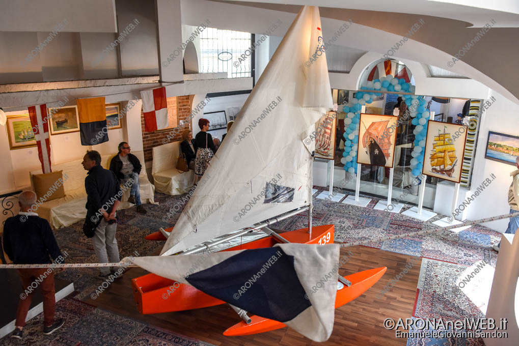 "EGS2018_12575   Mostra ""Arte e vele sull'acqua"" - ArteAdArona"