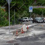 EGS2018_14129   28.05.2018 lavori per migliorare l'ingresso al parcheggio Compagnia Quaranta