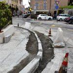 EGS2018_14135   28.05.2018 Via Poli, lavori in corso per allargare la carreggiata