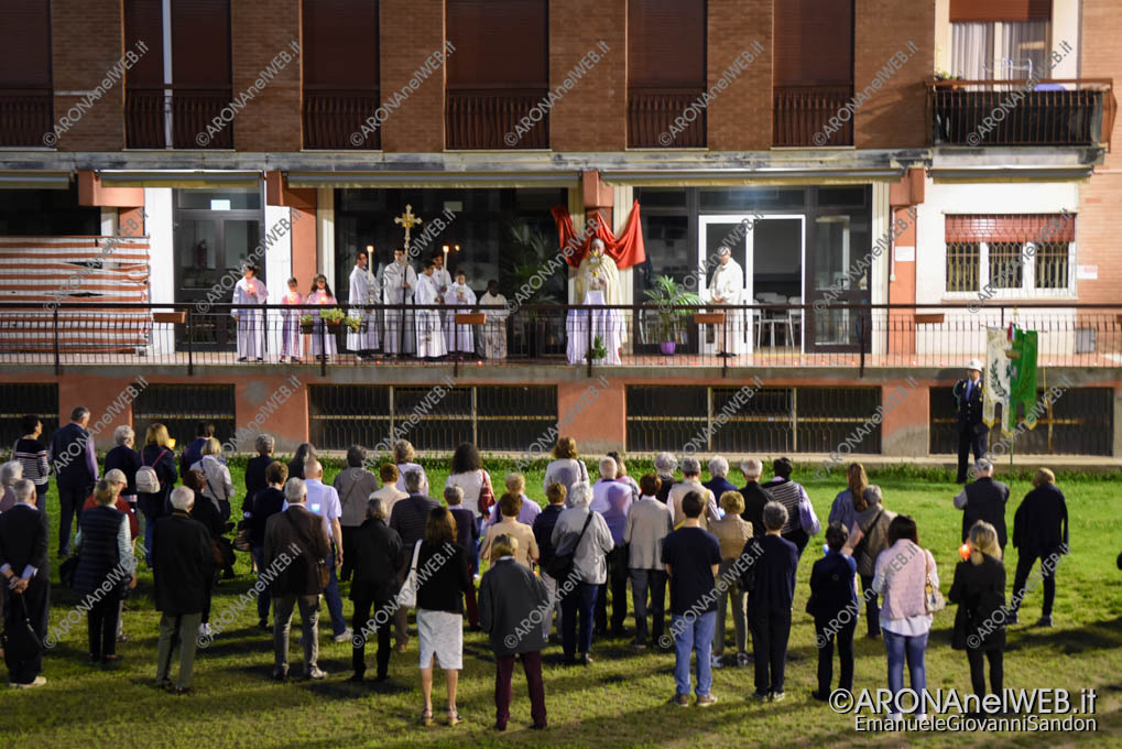 EGS2018_14275 | Processione del Corpus Domini terminata all'oratorio di Arona