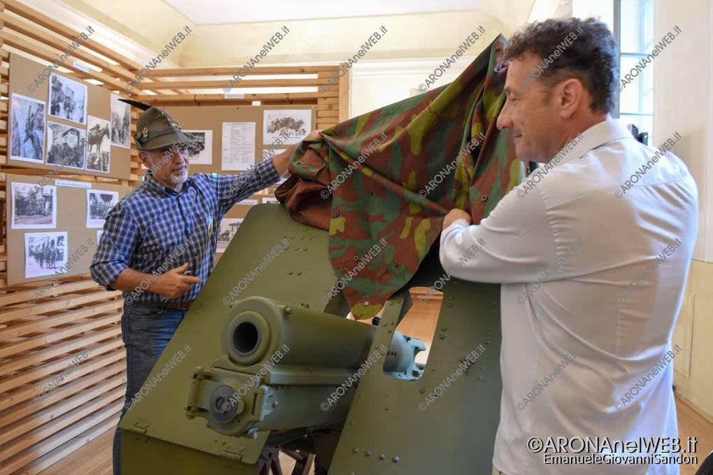 EGS2018_16989 | Inaugurazione restauro cannone del monumento agli Alpini di Arona