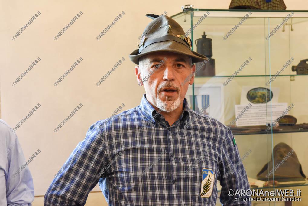 EGS2018_17021 | Giuseppe Mazzeo, capogruppo Alpini di Arona
