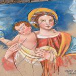 EGS2018_17068 | Riproduzione del quadro della Madonna della Cintura che si trova all'interno della Casa di Loreto nella Chiesa di Santa Marta ad Arona