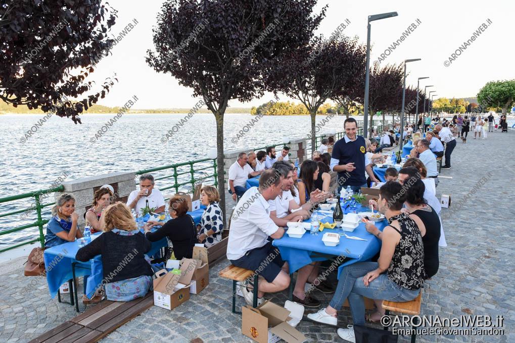 """EGS2018_18010   Cena Benefica """"Le déjeuner sur l'eau"""" ad Arona"""