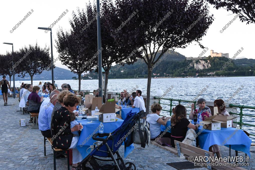"""EGS2018_18028   Cena Benefica """"Le déjeuner sur l'eau"""" ad Arona"""
