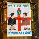 EGS2018_18142 | Lo stendardo del Palio di Mercurago 2018, opera di Luana Rizzo